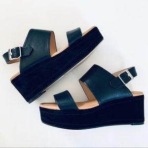 Corso Como Black Platform Sandal